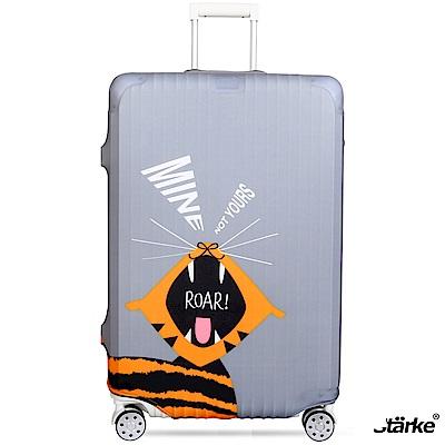 Starke 26-29吋高彈性行李箱套 -老虎吼聲