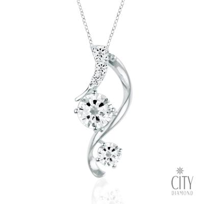 City Diamond 『迷人仙境』 K金項鍊