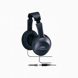 JVC全罩式耳機HA-G101加購KINYO耳道式耳機EMP-50-W