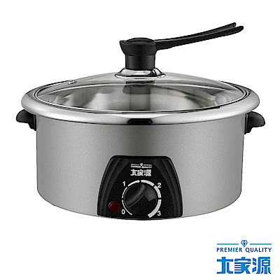 大家源304不鏽鋼4.0L料理鍋 TCY-3709