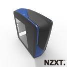 NZXT恩傑 Phantom 240 翼之幻影 電腦機殼-亞黑藍