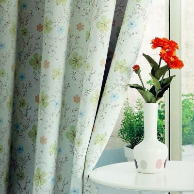 布安於室-花之梅遮光單層穿管式窗簾-落地窗(寬270*高210cm)