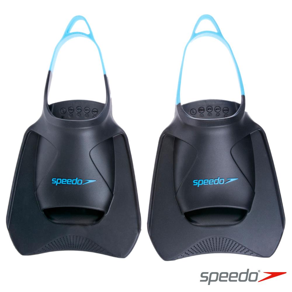 SPEEDO 進階型訓練蛙鞋 BioFuse 灰-藍