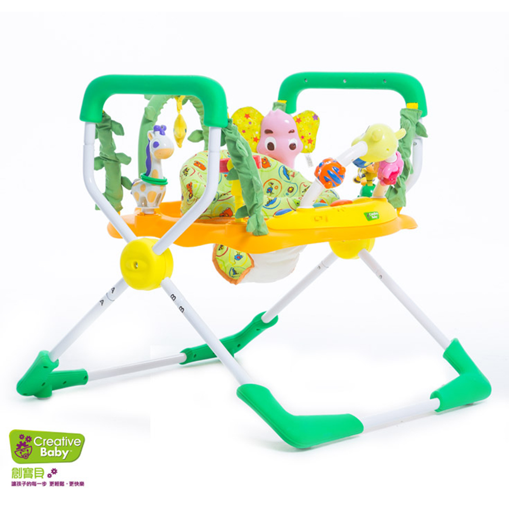 Creative Baby快樂森林兒童彈跳椅(Happy Safari)