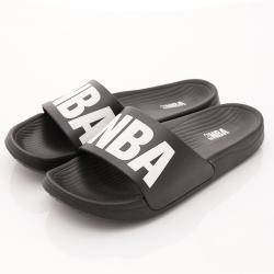 NBA美國職籃 超輕量拖鞋款-SE4793黑(親子段)
