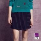 ILEY伊蕾 簡約知性條紋褲裙體驗價商品(藍)