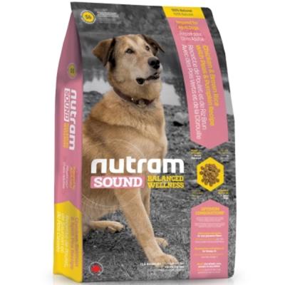 Nutram 紐頓 S6成犬/雞肉南瓜配方  2.72kg/包 2包組