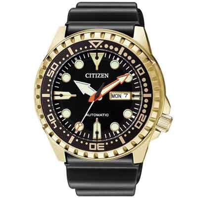 CITIZEN 運動潛水風格機械錶(NH8383-17E)-48mm