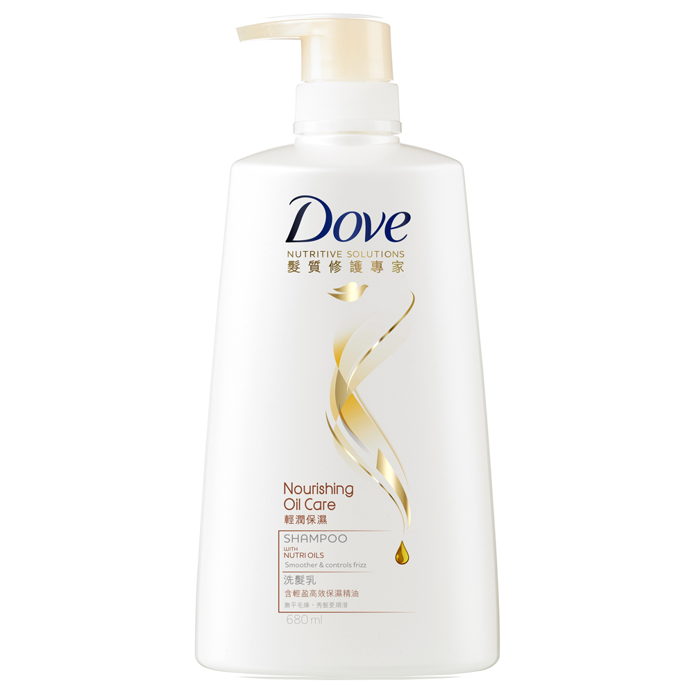 DOVE 多芬 輕潤保濕洗髮乳 680ml