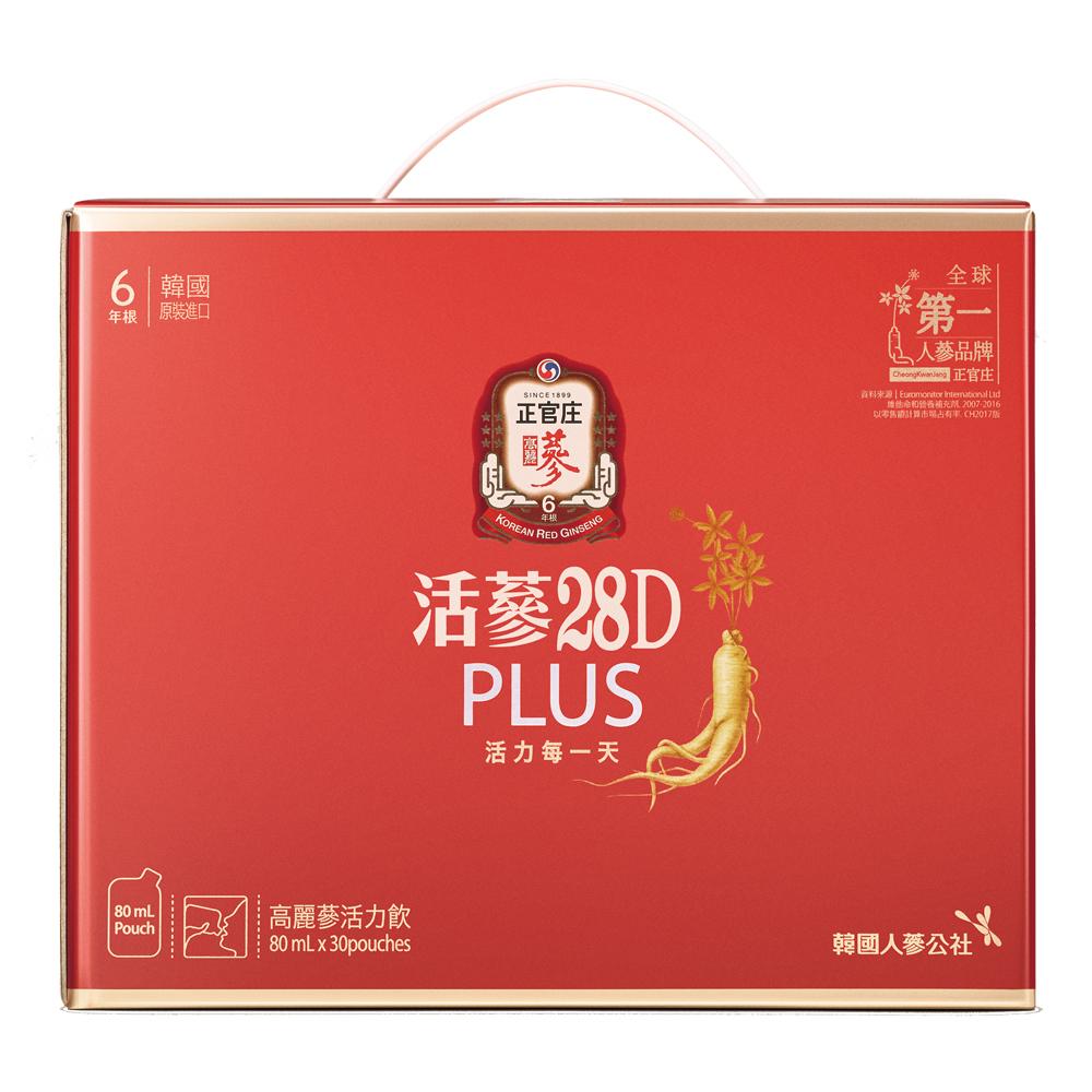 正官庄 活蔘28D PLUS(80mlx30包) @ Y!購物