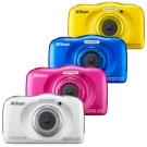 Nikon coolpix W100 防水,防摔,防塵數位相機 (公司貨)
