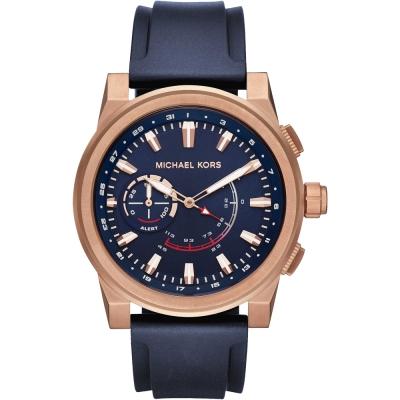 MICHAEL KORS Smartwatch智慧型指針式連線手錶-藍/47mm