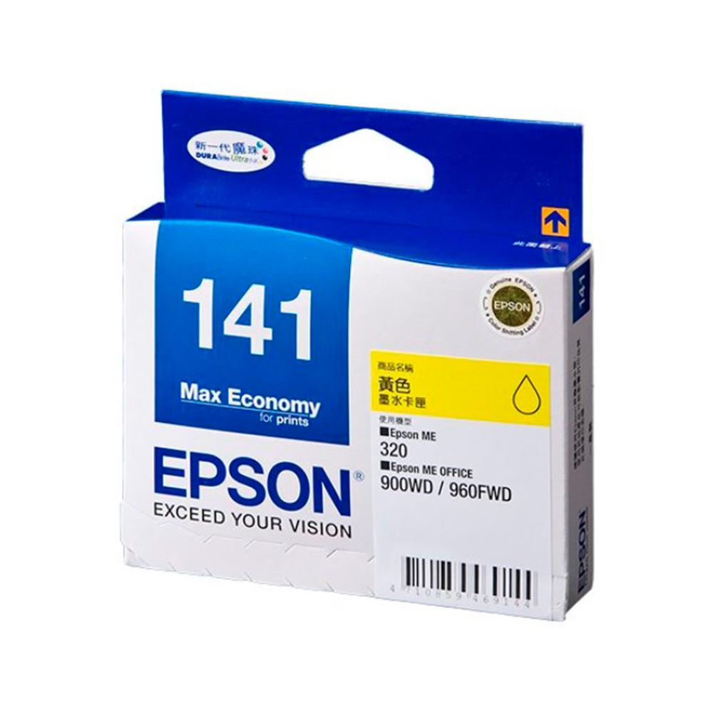 EPSON NO.141 原廠黃色墨水匣(T141450) @ Y!購物