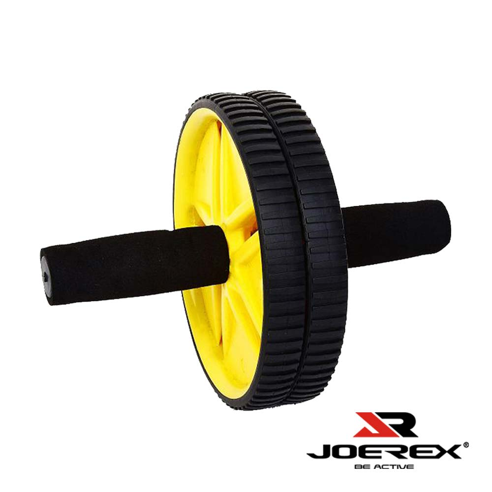 JOEREX 舒適泡棉握把健美輪/健腹輪(7902)