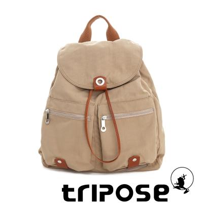 tripose MOVE系列輕量防潑水機能後背包(大) 駝