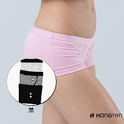 HANG TEN 舒適包臀平口褲三入組_黑(HT-C22002)