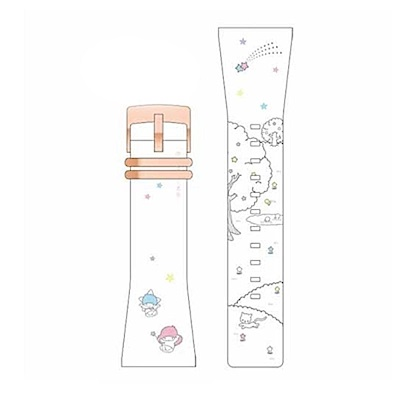 Smart Canvas 錶帶 雙星仙子 (玫瑰金框)