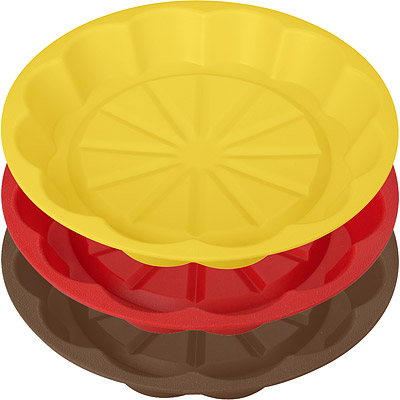 TESCOMA 矽膠花型淺蛋糕模(24cm)