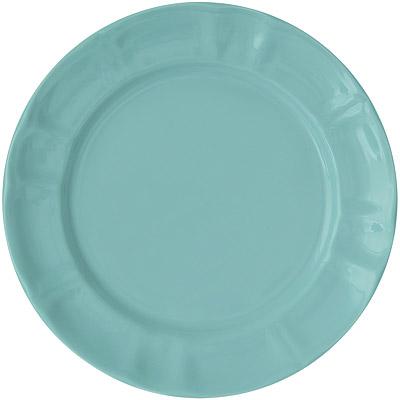 EXCELSA Chic陶製淺餐盤(荷綠22cm)