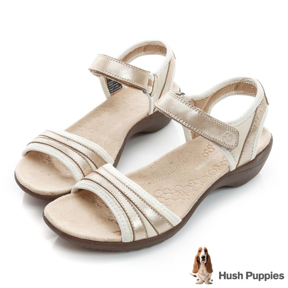 Hush Puppies ATHOS 舒適機能涼鞋-金色