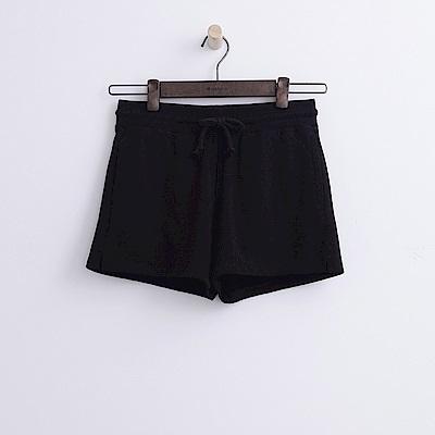 Hang Ten - 女裝 - 基本純色運動短褲-黑色