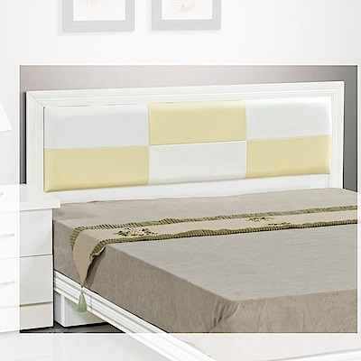 H&D 白色床片3.5尺 (寬106X深6X高93.5cm)