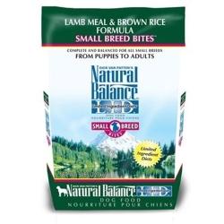 Natural Balance 低敏系列 羊肉糙米小顆粒 - 全犬 12磅 x 1包
