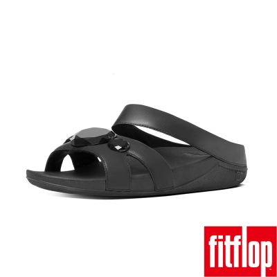 FitFlop TM-LUNA POP TM SLIDE-黑色