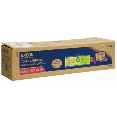 EPSON C13S050475 紅色高容量碳粉匣
