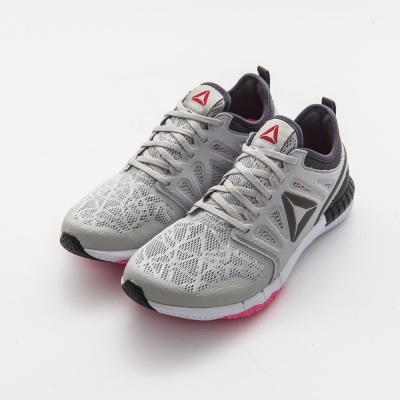 REEBOK-ZPRINT-3-女慢跑鞋-淺灰