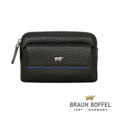 BRAUN-BUFFEL-OSLO奧斯陸系列零錢包-摩登黑