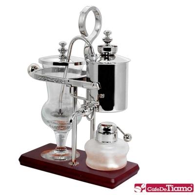 Tiamo CF 490 S 比利時咖啡壺 - 銀 ( HG 0135  )