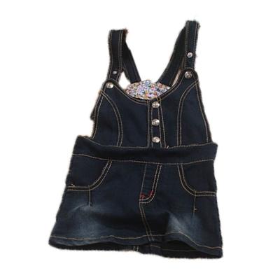 魔法Baby女童牛仔吊帶裙 k43082