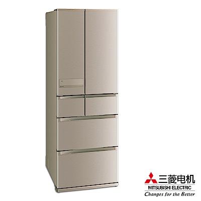 MITSUBISHI 三菱525L變頻六門電冰箱 MR-JX53C/N