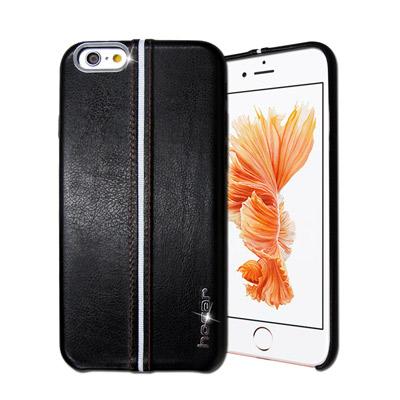 HOCAR iPhone 6s / 6 4.7吋 爵士皮革保護手機殼(曜黑)