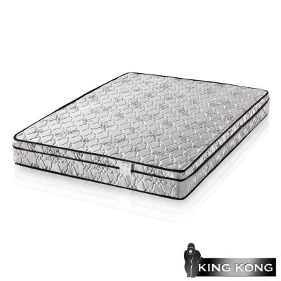 金鋼-三線高級緹花布加強護背型3-0硬式彈簧床墊-單人加大3-5尺