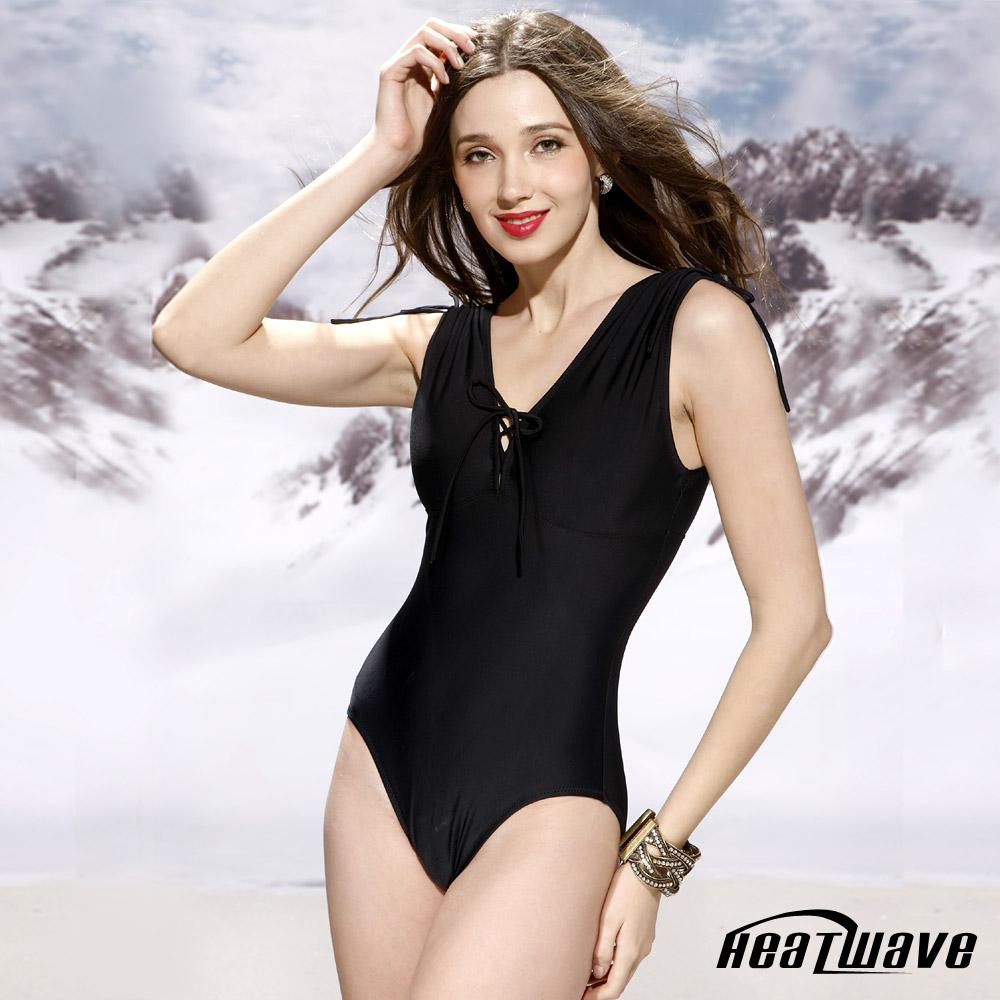 Heatwave 健泳系-修型曲型 萊克連身泳裝(加大)
