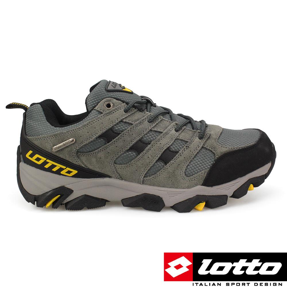 LOTTO 義大利 男 低筒戶外登山鞋 (灰)