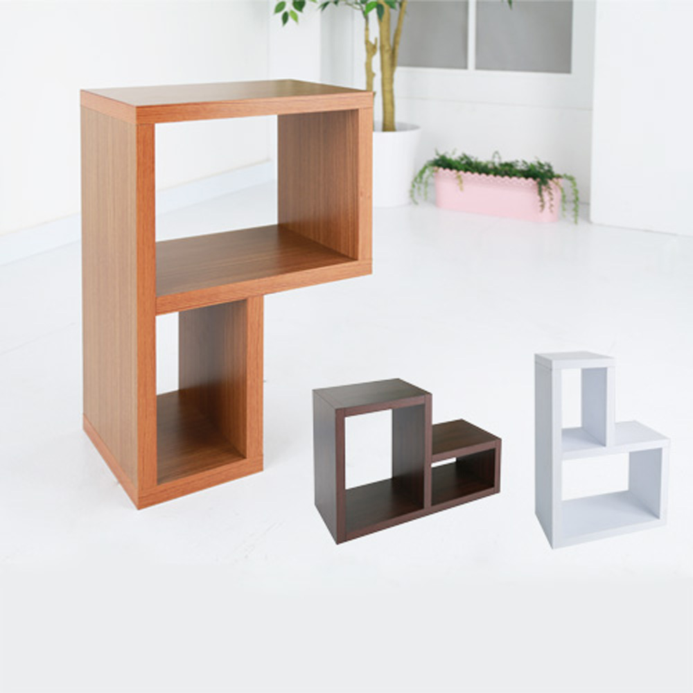 BuyJM 超厚2.5公分創意組合收納櫃/書櫃-2入組