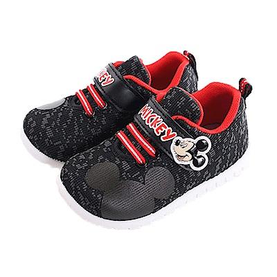 迪士尼米奇魔鬼貼舒適鞋 黑 sk0271 魔法Baby