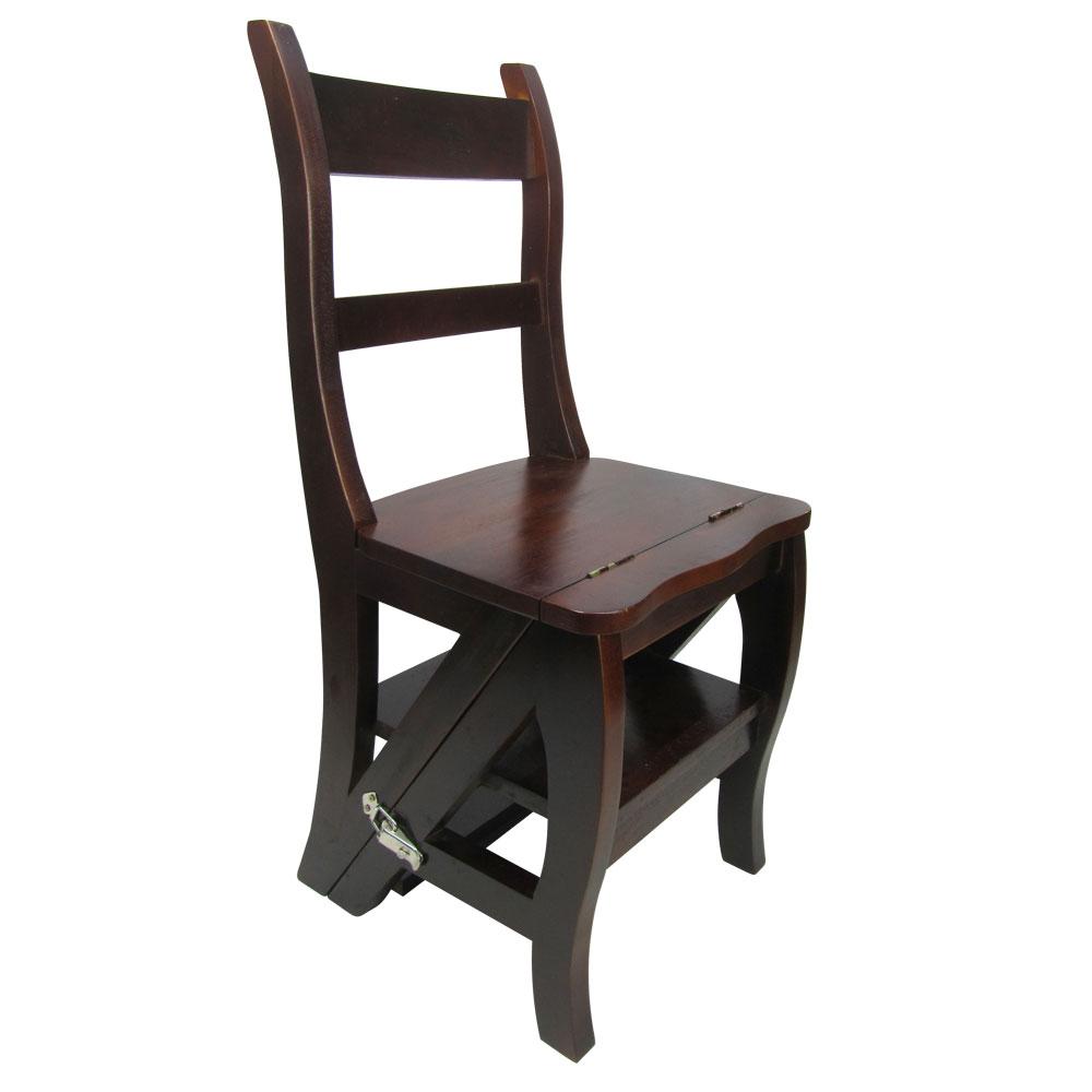 邏爵家具~實木變換階梯椅