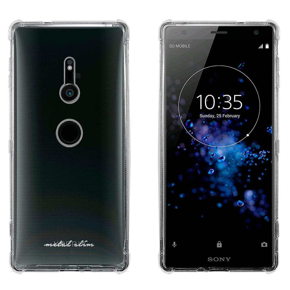 Metal-Slim Sony Xperia XZ2 強化防摔抗震空壓手機殼