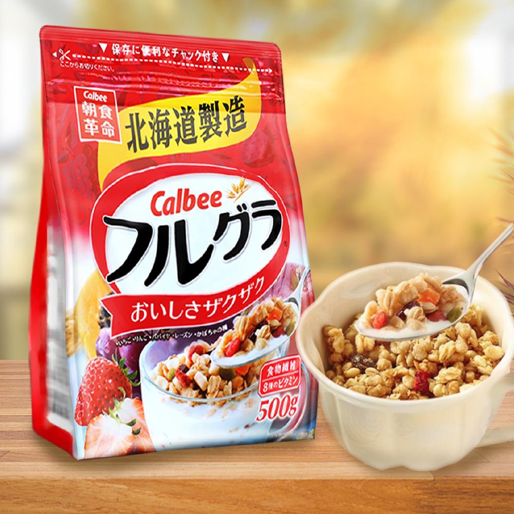 Calbee 卡樂比富果樂水果麥片(500g)