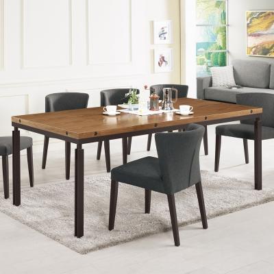 Bernice-威克6.7尺工業風餐桌/長桌-200x100x76cm