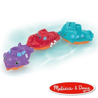 洗澡玩具-美國瑪莉莎 Melissa & Doug 遊艇組