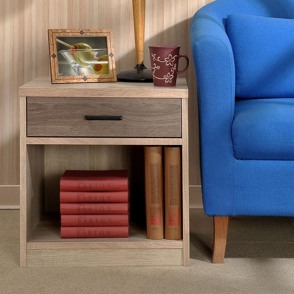 Asllie凱莉一抽一格櫃/邊櫃/床頭櫃/收納櫃 -50x40x50 cm