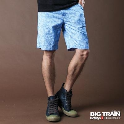 【BIG TRAIN】滿版印花短褲