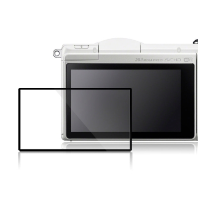 LARMOR金鋼防爆玻璃相機保護貼-SONY-A5000-A5100專用