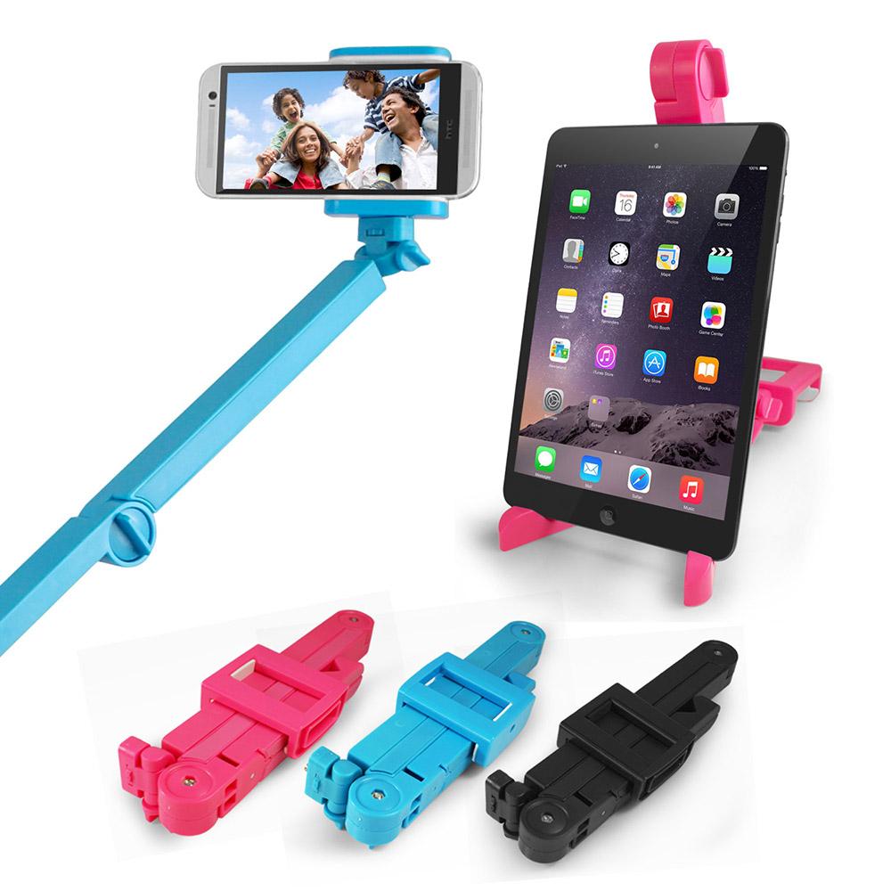 易攜型折疊式手機自拍架可變手機平板支撐架