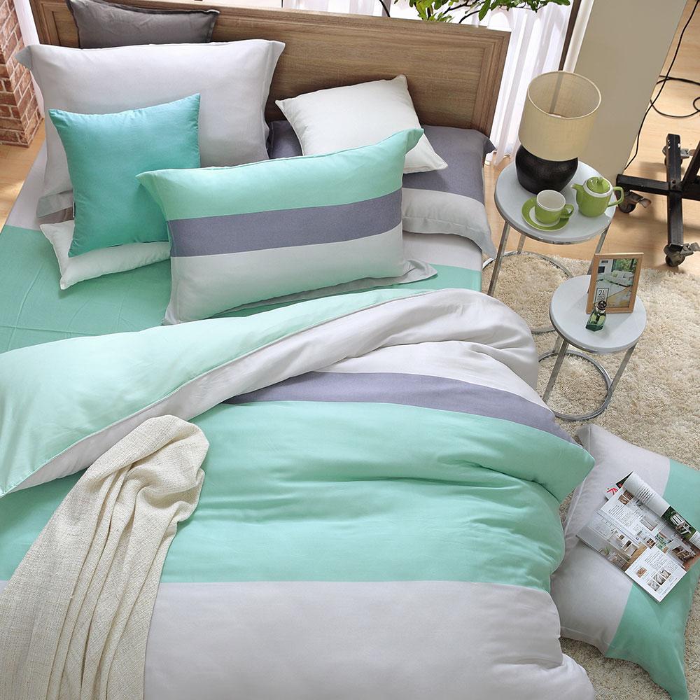 MONTAGUT-維也納的倒影-天絲-兩用被床包四件組(雙人)